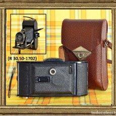 Cámara de fotos: CÁMARA DE FUELLE VOIGTLANDER BESSA DOS 4,5X6/6X9 + VOIGTAR 1:4,5 F = 11 CM. + MÁS FUNDA AÑO 1936. Lote 109564823