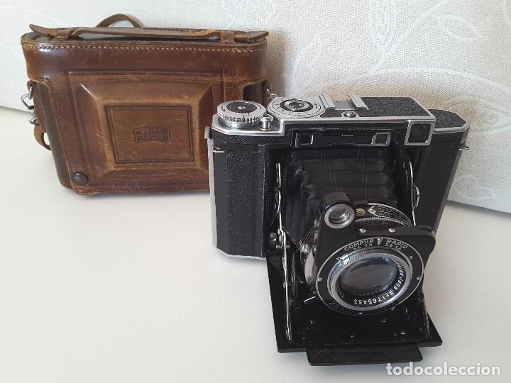 Cámara de fotos: Zeiss Ikon Super Ikonta de 1936. Excepcional estado. - Foto 2 - 109824195