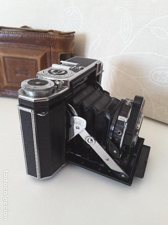 Cámara de fotos: Zeiss Ikon Super Ikonta de 1936. Excepcional estado. - Foto 5 - 109824195