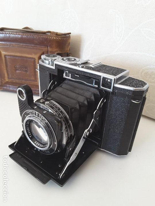 Cámara de fotos: Zeiss Ikon Super Ikonta de 1936. Excepcional estado. - Foto 7 - 109824195