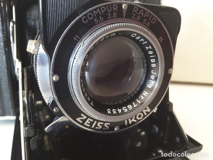 Cámara de fotos: Zeiss Ikon Super Ikonta de 1936. Excepcional estado. - Foto 8 - 109824195