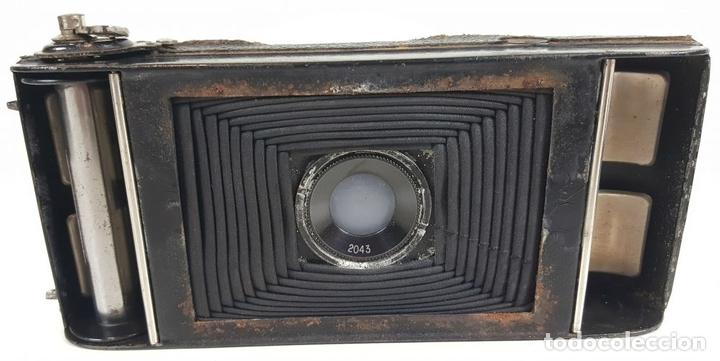 Cámara de fotos: CAMARA DE FUELLE ZEISS IKON ICARETTE. DRESDEN. ALEMANIA CIRCA 1925. - Foto 10 - 110181975