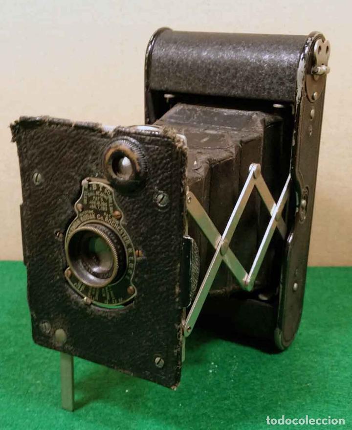KODAK VEST POCKET AUTOGRAPHIC MODELO G (Cámaras Fotográficas - Antiguas (hasta 1950))