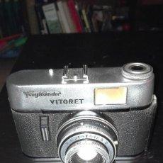 Cámara de fotos: FOTOGRAFIA.CAMARA ALEMANA VOIGTLANDER VITORET. Lote 111163811