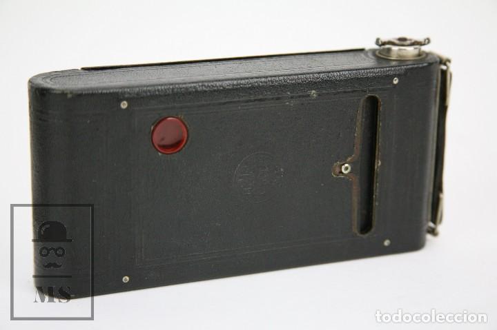 Cámara de fotos: Antigua Cámara Fotográfica de Fuelle - Pocket Kodak No. 1 - Funda Original - Eastman Kodak, Años 30 - Foto 14 - 111569403