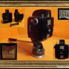 Cámara de fotos: RARA CÁMARA INGLESA EN BAKELITA VISTA COLOUR 1952 (R-015). Lote 112567635