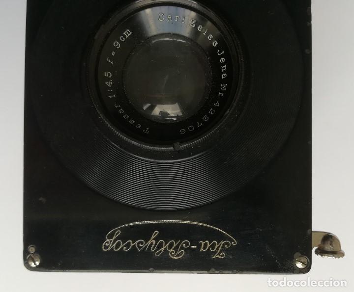 Cámara de fotos: Camara fotografica Yca-Polyscop con estuche original y 127 placas en cristal aprox.Tal como se ve - Foto 4 - 112779803