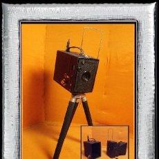 Cámara de fotos: PRECIOSA CÁMARA ZEISS IKON ERABOX 52/2 1933 (R-014). Lote 113214735