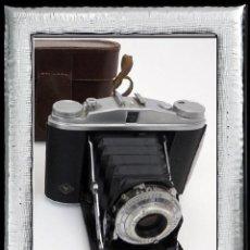 Cámara de fotos: ..ART DECO, CÁMARA ANTIGUA FUELLE..KODAK JUNIOR 620,..ALEMANIA III REICH(1937)... Lote 113215063
