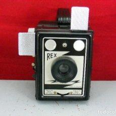 Cámara de fotos: CORONET REX CON FLASH CONTAC FUNCIONA EXCELENTE ESTADO. Lote 113291519