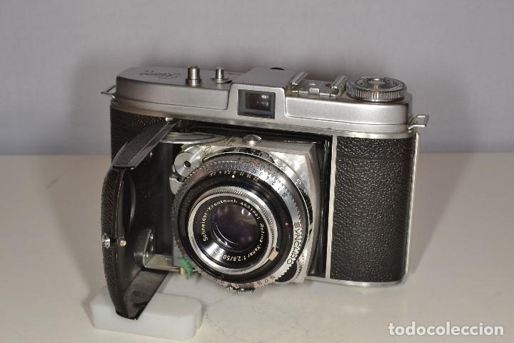 Cámara de fotos: CAMARA KODAK RETINA Ib - RETINA XENAR F 2,8/50 - REF. 1584 - Foto 3 - 114240851
