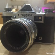 Cámara de fotos: PRAKTINA FX CON OBJETIVO CARL ZEISS - TESSAR F 2, 8 /50MM . Lote 114418803