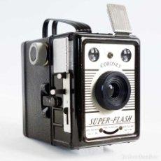Fotokamera - CÁMARA SUPER FLASH CORONET 1955. FUNCIONA - 132128619