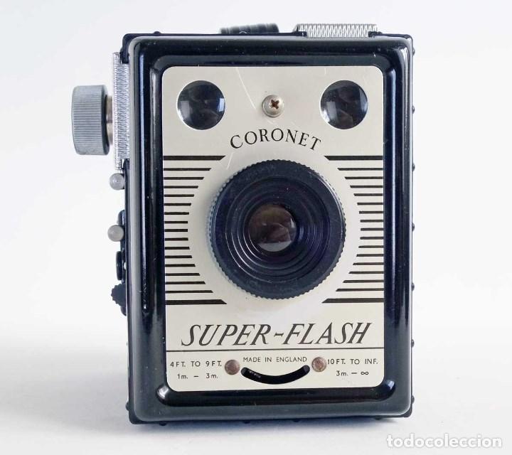 Cámara de fotos: CÁMARA SUPER FLASH CORONET 1955. FUNCIONA - Foto 5 - 132128619