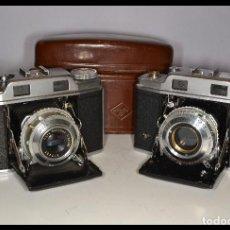 Cámara de fotos: DOS CAMARAS AGFA SUPER SOLINETTE COMPLETAS - REF. 1309/4. Lote 115061195