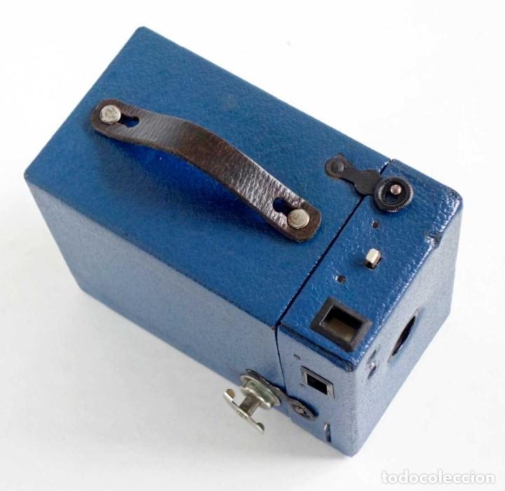 Cámara de fotos: MUY RARA CÁMARA BLUE CORONET BOX. FUNCIONA. AÑOS 30 - Foto 3 - 115167479