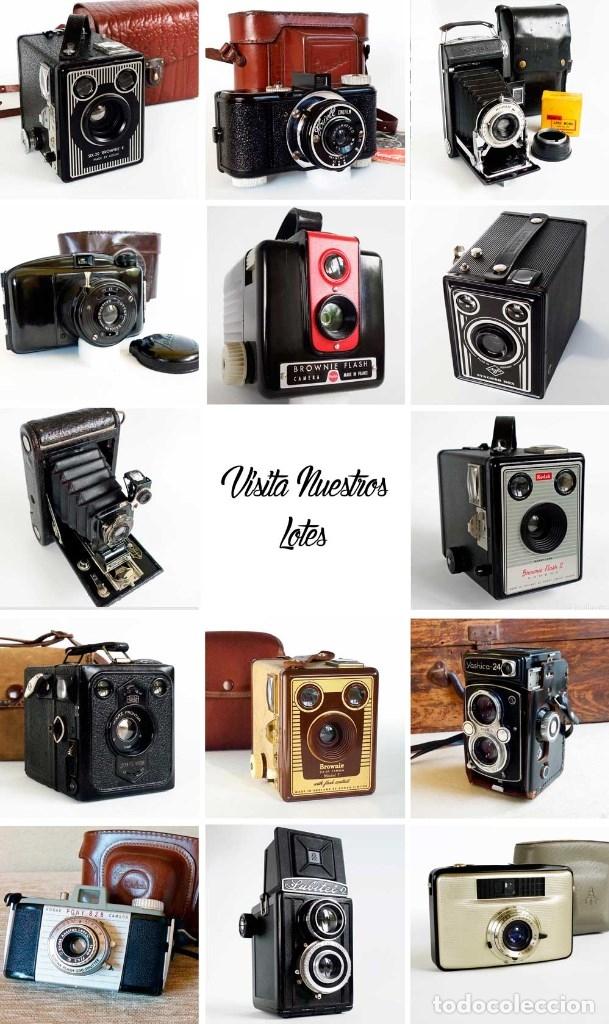 Cámara de fotos: MUY RARA CÁMARA BLUE CORONET BOX. FUNCIONA. AÑOS 30 - Foto 7 - 115167479