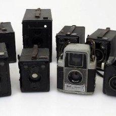 Cámara de fotos: EXCELENTE LOTE DE 11 CAMARAS CAMARA ANTIGUAS DE DIFERENTES EPOCAS HOUGHTON BUTCHER ENSIGN AGFA ZEISS. Lote 116281719