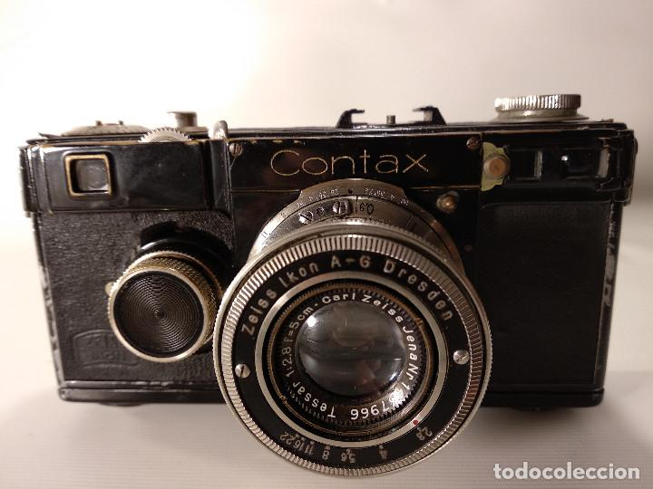 CÁMARA ZEISS ICON CONTAX 1 - SIN EL SEGUNDO NÚMERO DE REPARACIÓN (Cámaras Fotográficas - Antiguas (hasta 1950))