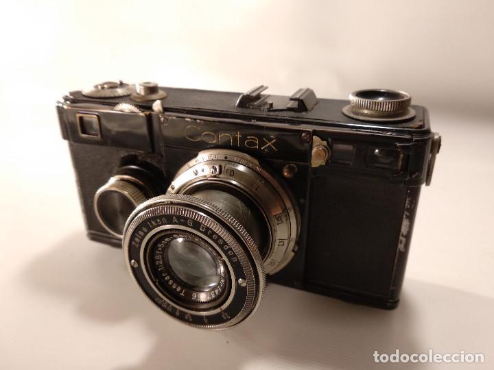 Cámara de fotos: CÁMARA ZEISS ICON CONTAX 1 - SIN EL SEGUNDO NÚMERO DE REPARACIÓN - Foto 2 - 116478763