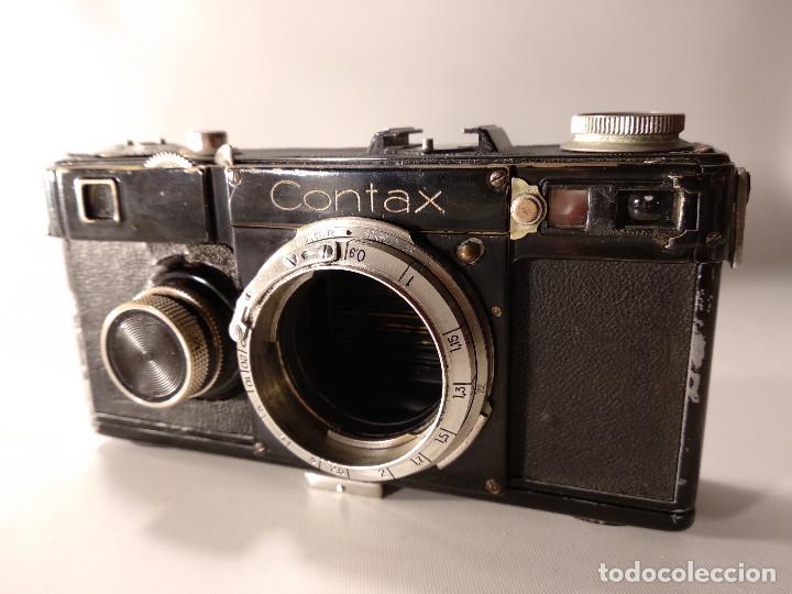 Cámara de fotos: CÁMARA ZEISS ICON CONTAX 1 - SIN EL SEGUNDO NÚMERO DE REPARACIÓN - Foto 6 - 116478763