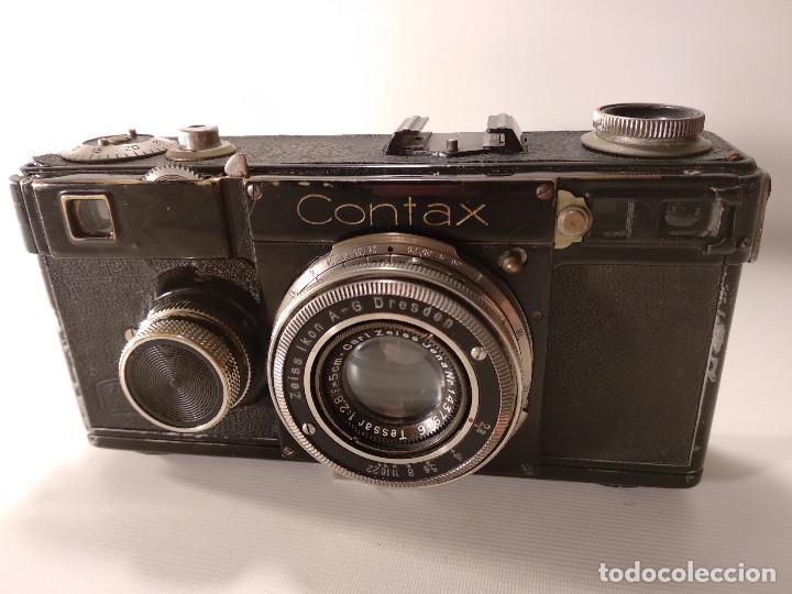 Cámara de fotos: CÁMARA ZEISS ICON CONTAX 1 - SIN EL SEGUNDO NÚMERO DE REPARACIÓN - Foto 11 - 116478763
