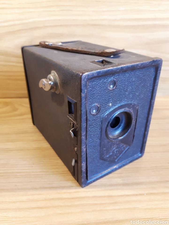CAMARA DE FOTOGRAFIAR DE CAJON AGFA BOX (Cámaras Fotográficas - Antiguas (hasta 1950))