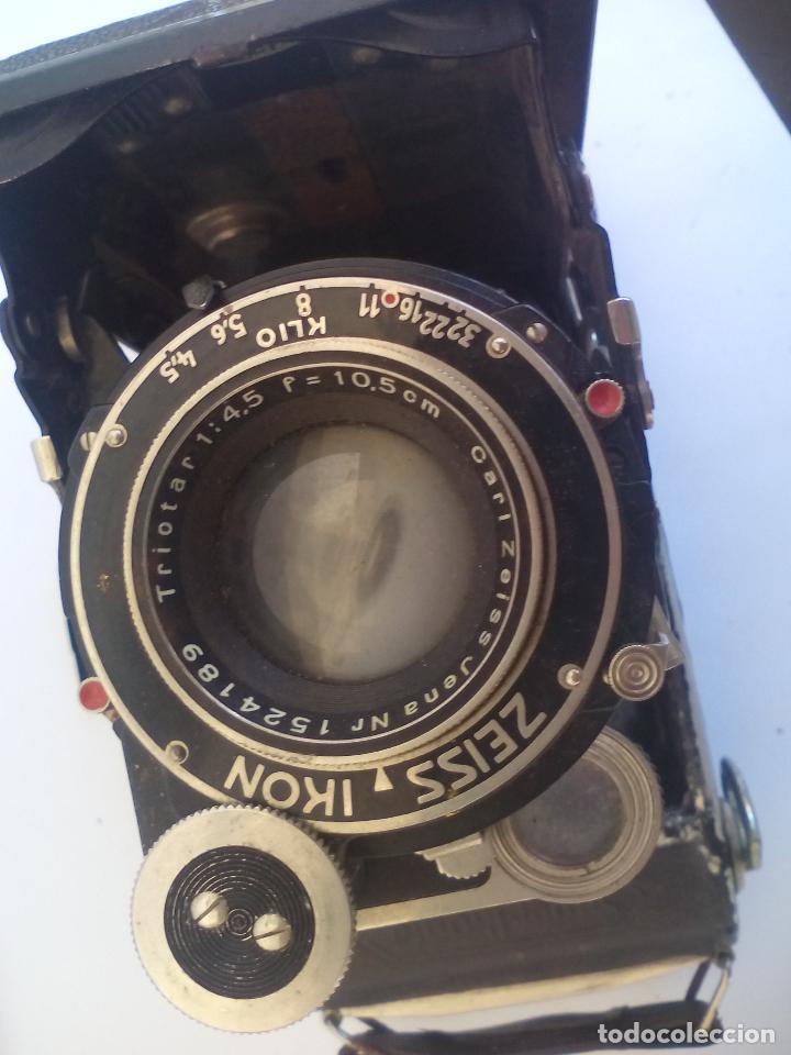 Cámara de fotos: ZEISS IKON SUPER IKONTA 530/2. cámara fotográfica. - Foto 7 - 118142947