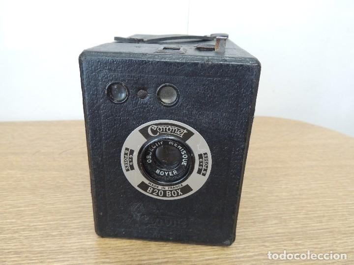 CAMARA CORONET B20BOX (Cámaras Fotográficas - Antiguas (hasta 1950))