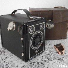 Cámara de fotos: CÁMARA ANTIGUA DE FOTOS FOTOGRÁFICA ALEMANA AGFA BOX 45 AÑO 1939 1942 II GUERRA MUNDIAL III REICH. Lote 118747511