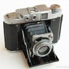 Cámara de fotos: *C1946* • MAMIYA SIX III (PRIMER MOD. POSTGUERRA) TELEMÉTRICA • ZUIKO F3.5 FORMATO MEDIO 6X6 FOLDING. Lote 119050415