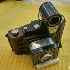 Cámara de fotos: CAMARA AGFA ULTRA FEX.HECHA EN BAQUELITA.(1940). Lote 119839360