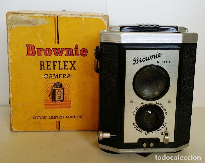 CAMARA KODAK BROWNIE REFLEX (Cámaras Fotográficas - Antiguas (hasta 1950))
