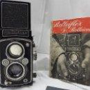 Cámara de fotos: ROLLEIFLEX AUTOMAT (1937) TESSAR 75MM 1:3,5. Lote 120055383