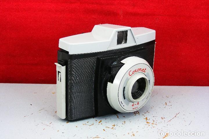 Cámara de fotos: CORONET PEQUEÑA CAMARA 4&4 BUEN ESRADO Y FUNCIONA CON FUNDA ORIGINAL - Foto 6 - 120208491