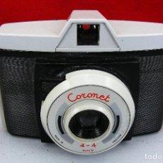 Cámara de fotos: CORONET PEQUEÑA CAMARA 4&4 BUEN ESRADO Y FUNCIONA CON FUNDA ORIGINAL. Lote 120208491
