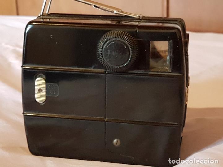 Cámara de fotos: Cámara de baquelita AGFA TROLIX - Operativa, y completa - Estilo Art Deco - Año 1936 - Foto 7 - 121379315