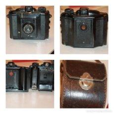 Cámara de fotos: MÁQUINA DE FOTOS *CAPTA* DE BAQUELITA CON OBJETIVO ESPECIAL Y FUNDA. AÑOS 30. INFO Y FOTOS.. Lote 121663271