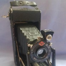 Cámara de fotos: CAMARA AGFA ANASTIGMAT JGETAR F: 8.8 CON SU ESTUCHE. Lote 122580691