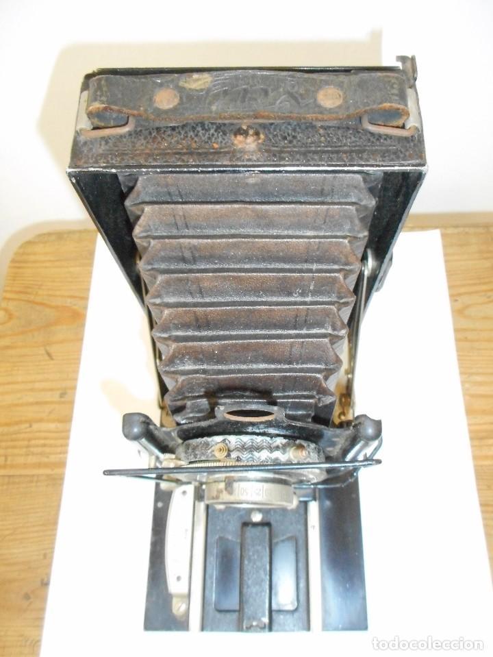 Cámara de fotos: Cámara fotográfica de fuelle Voigtländer Compur - Foto 2 - 123436835