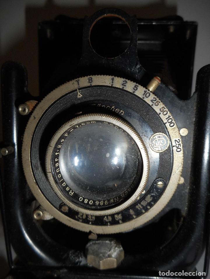 Cámara de fotos: Cámara fotográfica de fuelle Voigtländer Compur - Foto 3 - 123436835