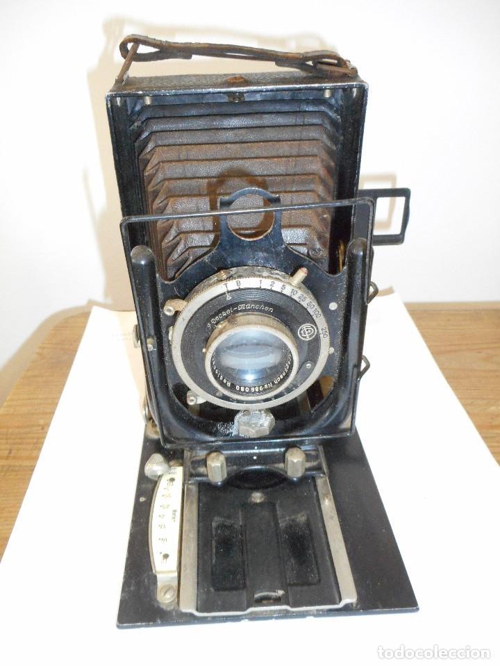 Cámara de fotos: Cámara fotográfica de fuelle Voigtländer Compur - Foto 7 - 123436835