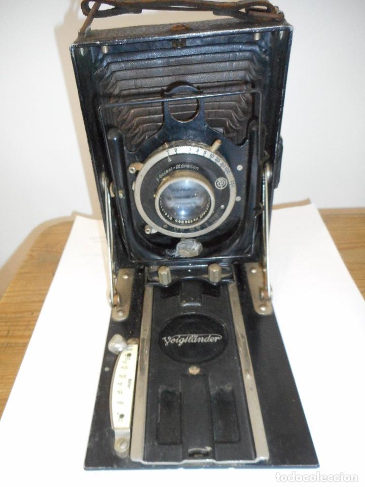 Cámara de fotos: Cámara fotográfica de fuelle Voigtländer Compur - Foto 8 - 123436835