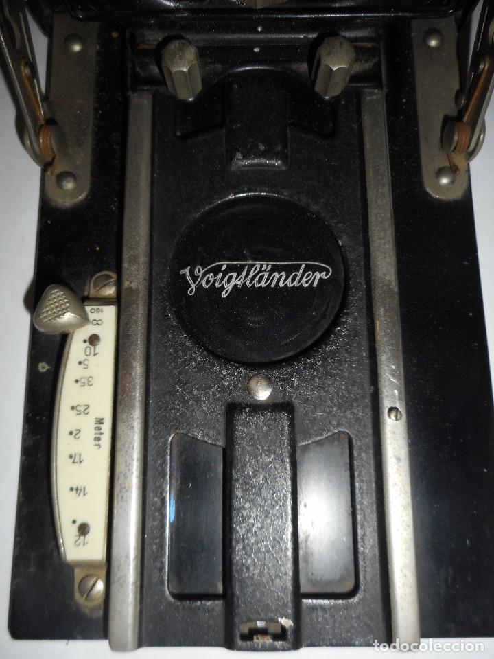 Cámara de fotos: Cámara fotográfica de fuelle Voigtländer Compur - Foto 9 - 123436835