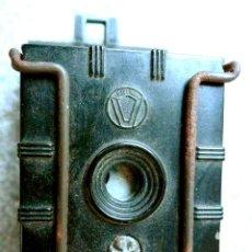 Cámara de fotos: 1ª CAMARA DE LA UNIVERSAL CAMERA CORPORATION (EEUU). UNIVEX DE 1933. Lote 123597419