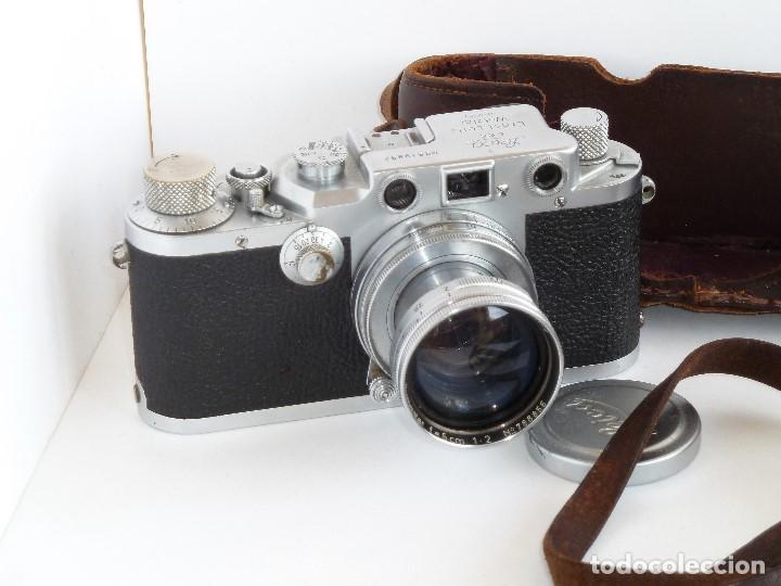 Cámara de fotos: Leica IIIc Año 1950 - Foto 2 - 123819379