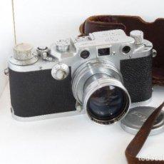Cámara de fotos: LEICA IIIC AÑO 1950. Lote 123819379
