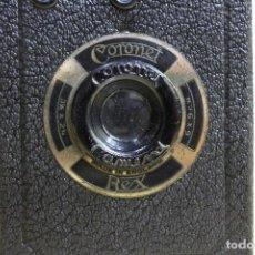 Cámara de fotos: CÁMARA DE CAJON CORONET REX DEL AÑO 1935. Lote 125286483