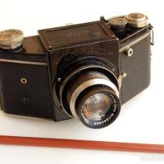 Cámara de fotos: *C1936* • IHAGEE EXAKTA MODEL B /3 (#438196) • ANTIGUA SLR FORMATO MEDIO 4X6 TESSAR F2.8. Lote 126168531