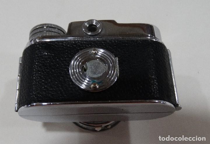 Cámara de fotos: CÁMARA DE FOTOS ANTIGUA MYCRO -IIIA- AÑO 1952 APROX - ESTUCHE ORIGINAL CUERO. - Foto 8 - 127661799